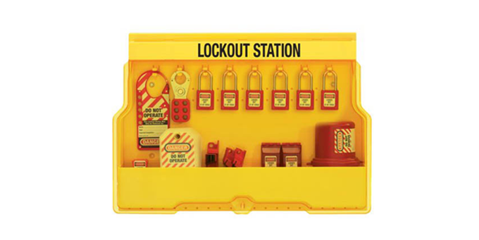 Lockout & Padlock Station