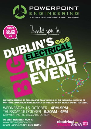 Irish Electricians Trade Show