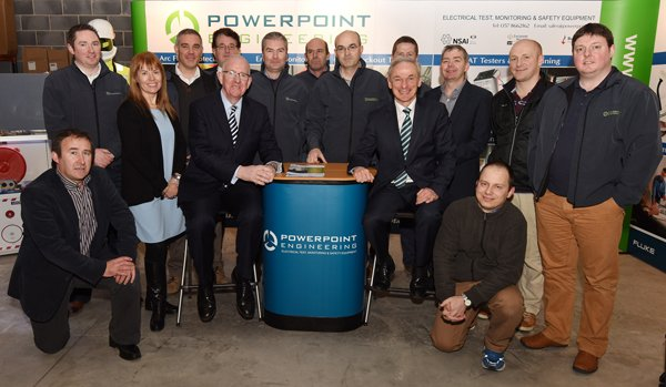 Powerpoint Engineering Ltd. Visited by Minister Richard Bruton and Minister Charlie Flanagan